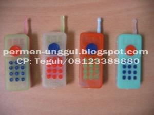 Permen Mainan handphone