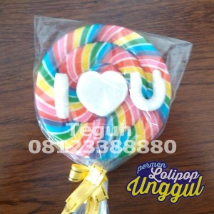 Custom Permen Lollypop