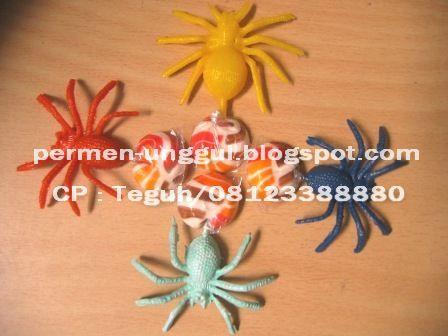 Permen Mainan Laba-laba