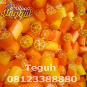 Lemon Orange Roll Candy Unggul