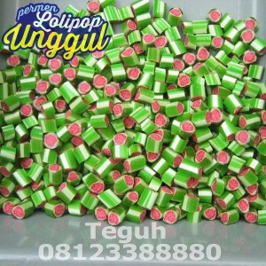 Semangka Roll Candy