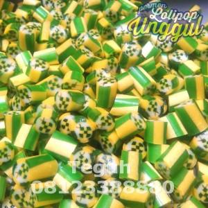 Ketupat Lebaran Rock Candy